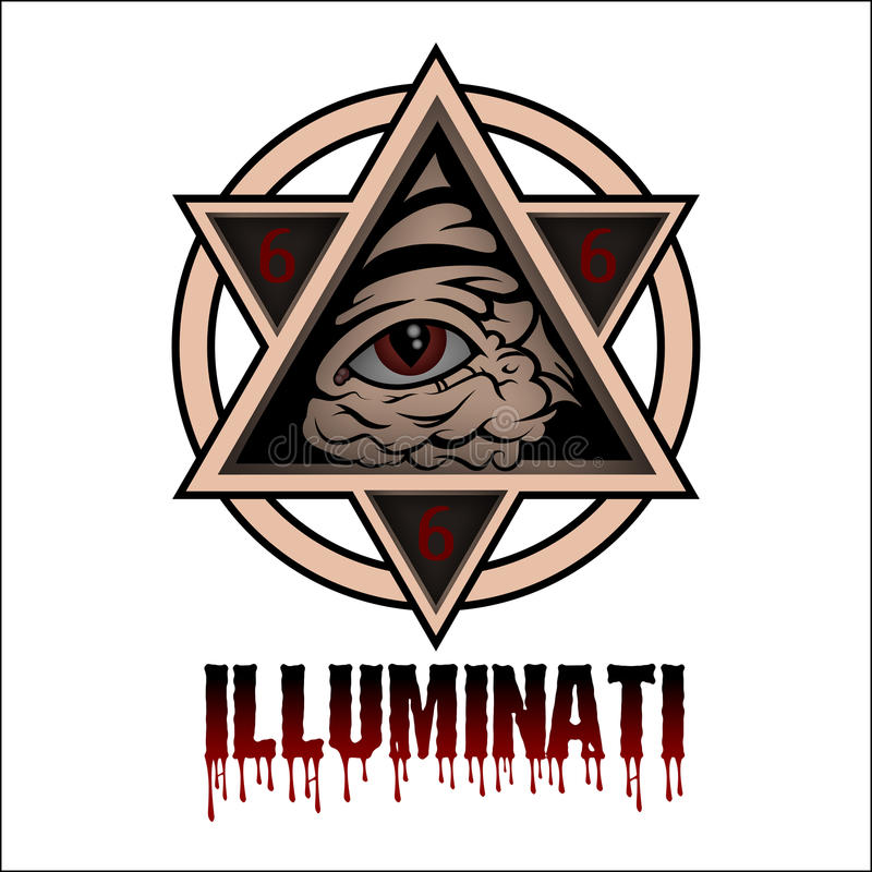 illuminati stock illustratie