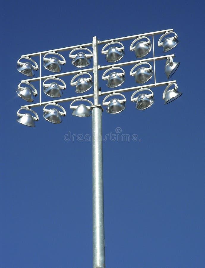 Illuminating Sport stockbilder