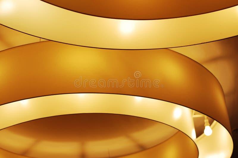Illumination on a ceiling royalty free stock image