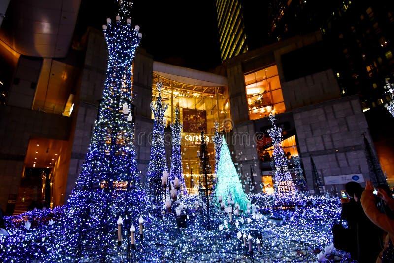 Illumination 2018 de Caretta de Shiodome photos stock