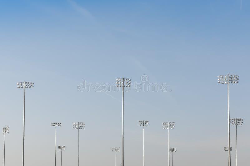Download Illumination Towers stock photo. Image of high, light - 24013304