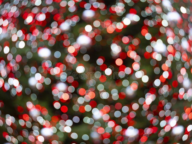 Illuminations de noël non ciblées image de fond en couleur photographie stock libre de droits