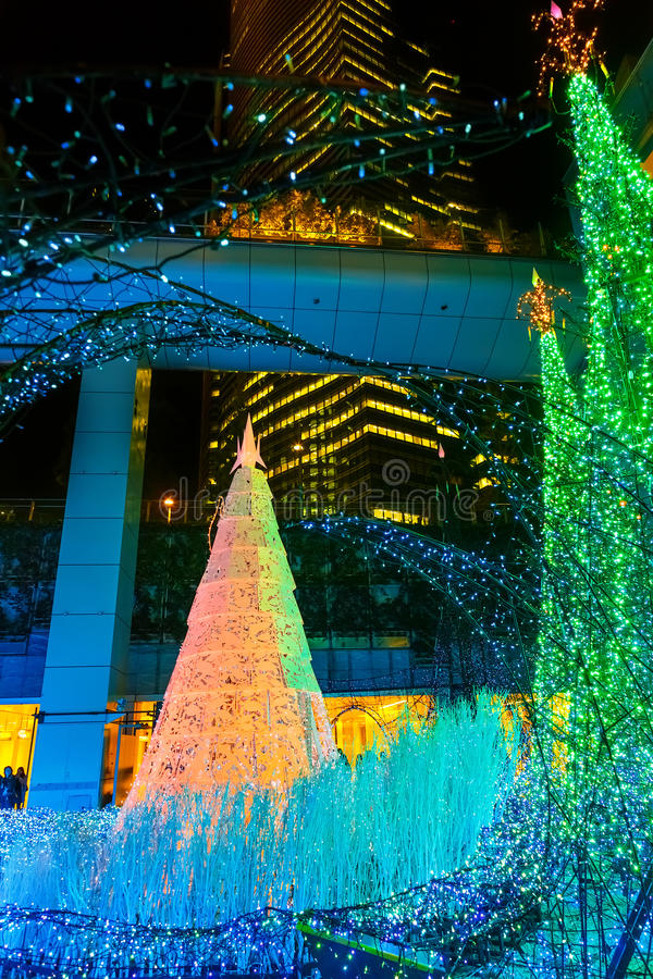 Download Illuminations Light Up At At Caretta Shopping Mall In Shiodome District Odaiba Japan  sc 1 st  Dreamstime.com & Illuminations Light Up At At Caretta Shopping Mall In Shiodome ... azcodes.com