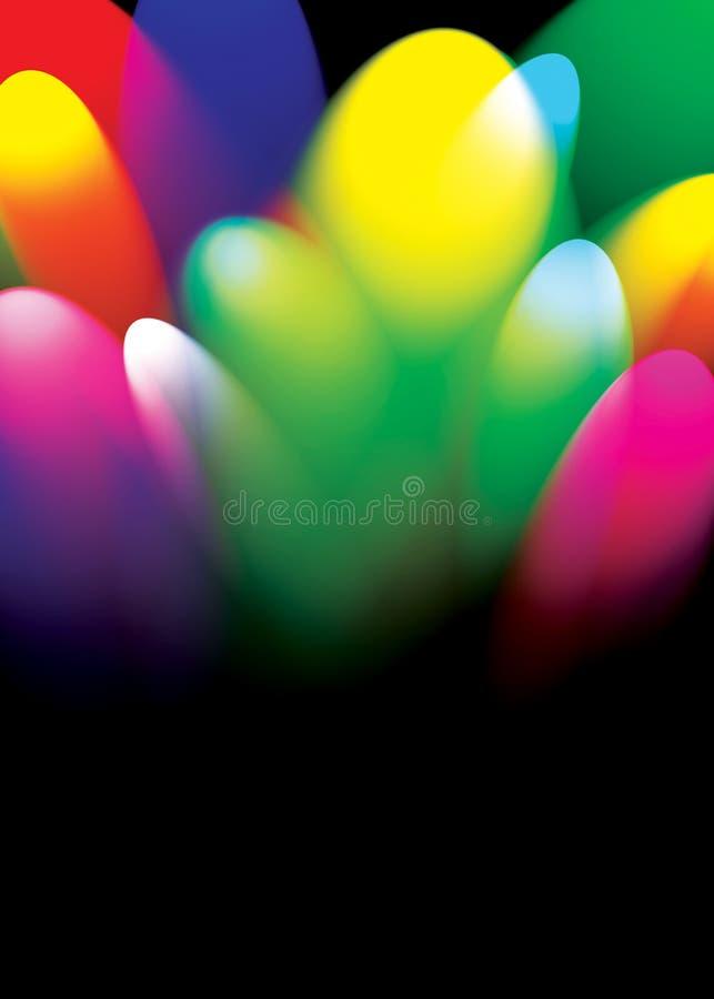 Illuminazione astratta illustrazione di stock
