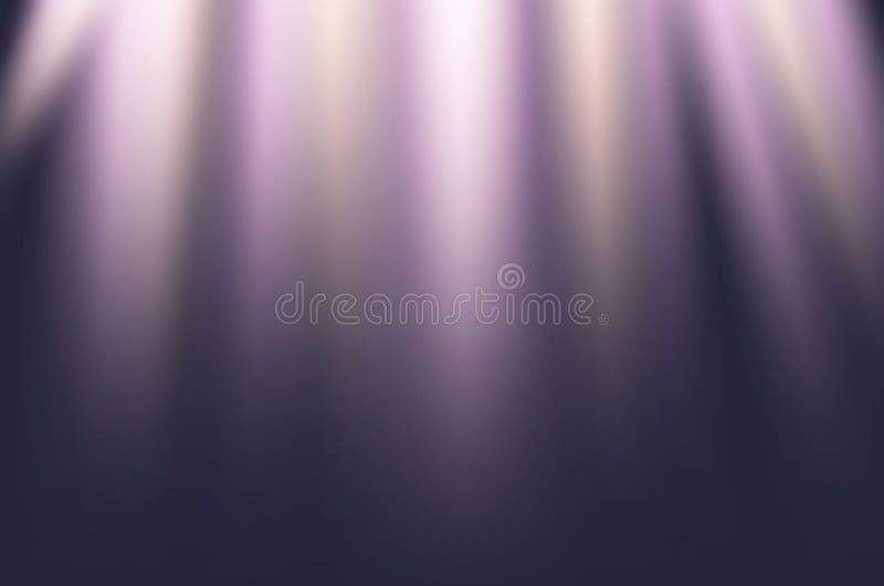 Illuminazione astratta della fase per l'uso come fondo fotografia stock