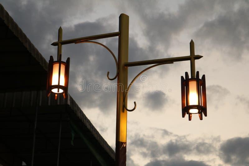 Illuminazione a ChiangKan immagine stock
