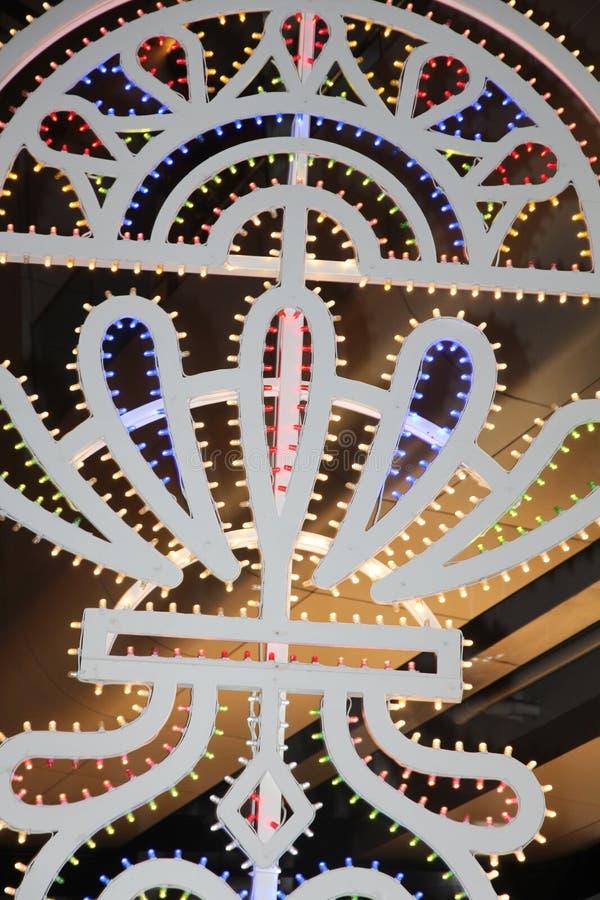 Illuminazione decorativa fotografia stock libera da diritti