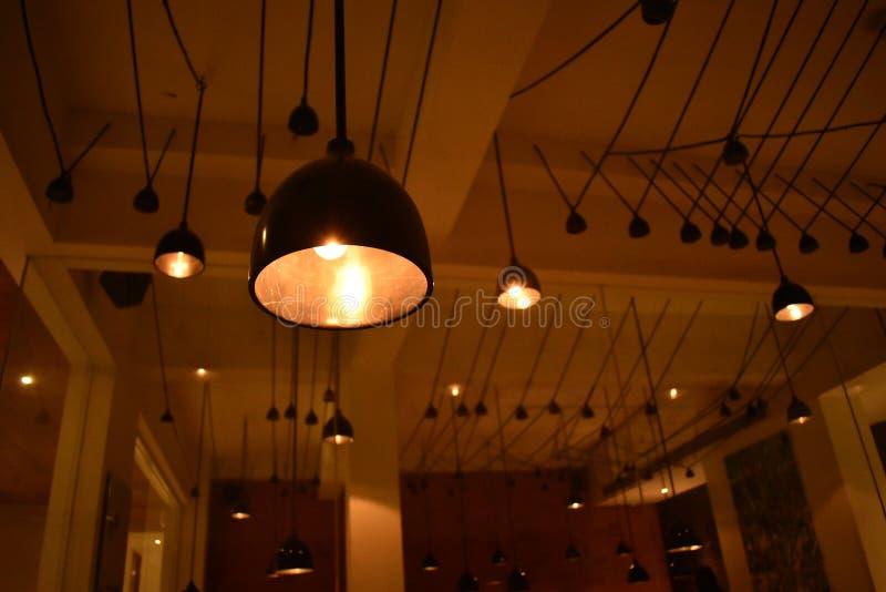 Illuminazione del soffitto fotografia stock libera da diritti
