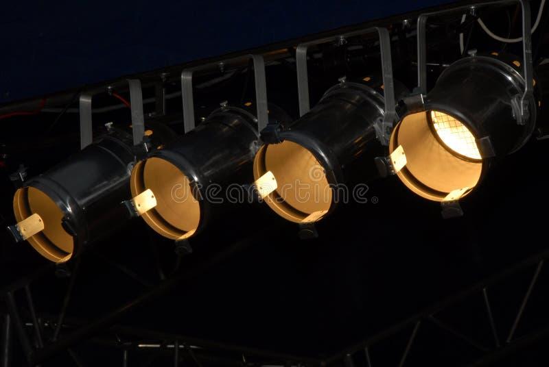 Illuminazione della fase fotografie stock