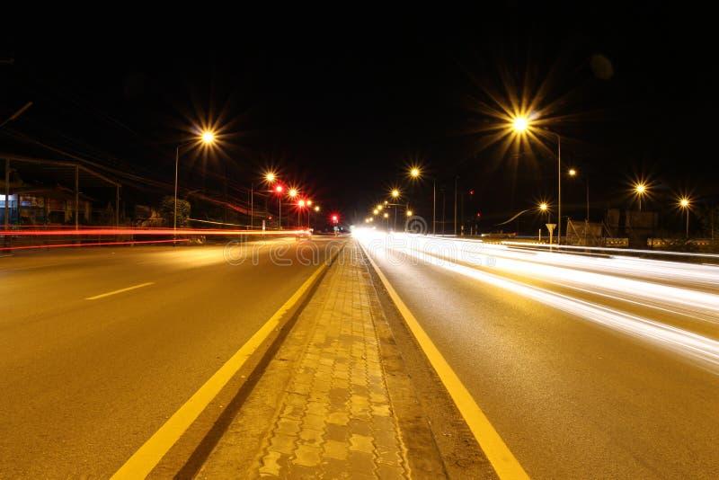 Illuminazione stradale fotografie stock libere da diritti