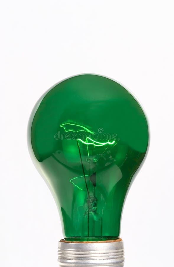 Illuminazione verde fotografia stock