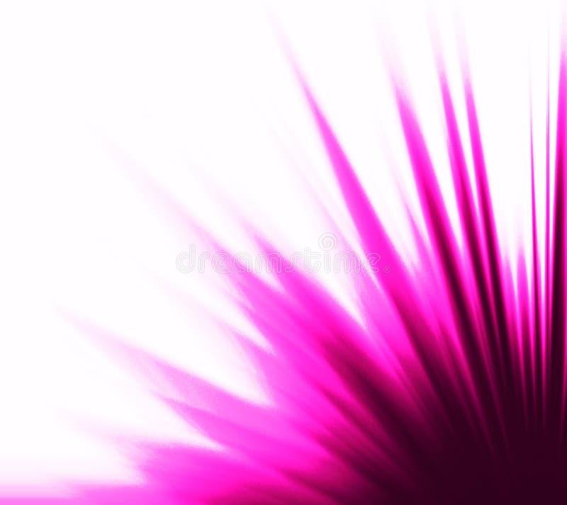 Illuminazione viola illustrazione vettoriale
