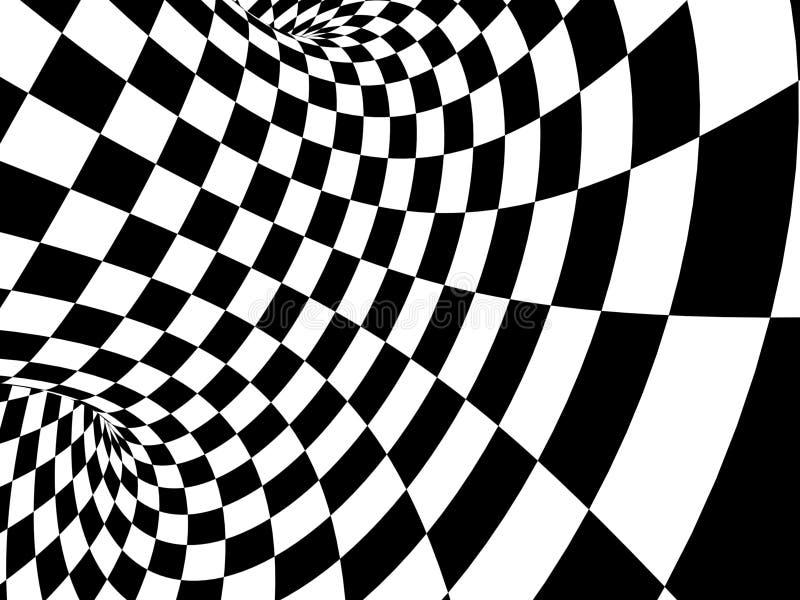 Illusion vector illustration