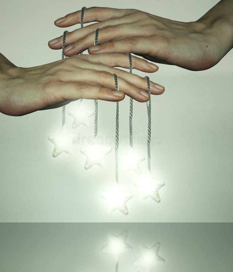 Illusion des étoiles photos libres de droits