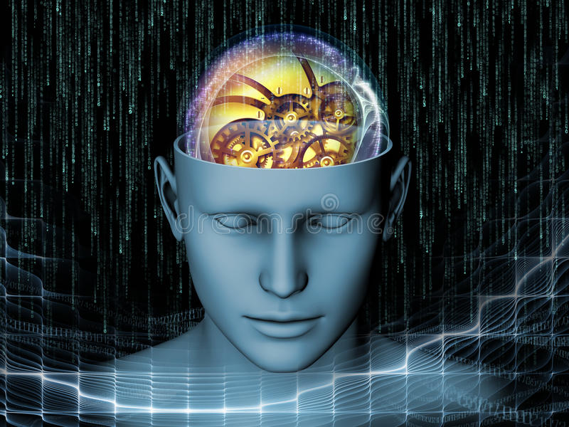 Download Illusion of the Mind stock illustration. Image of creative - 32096950