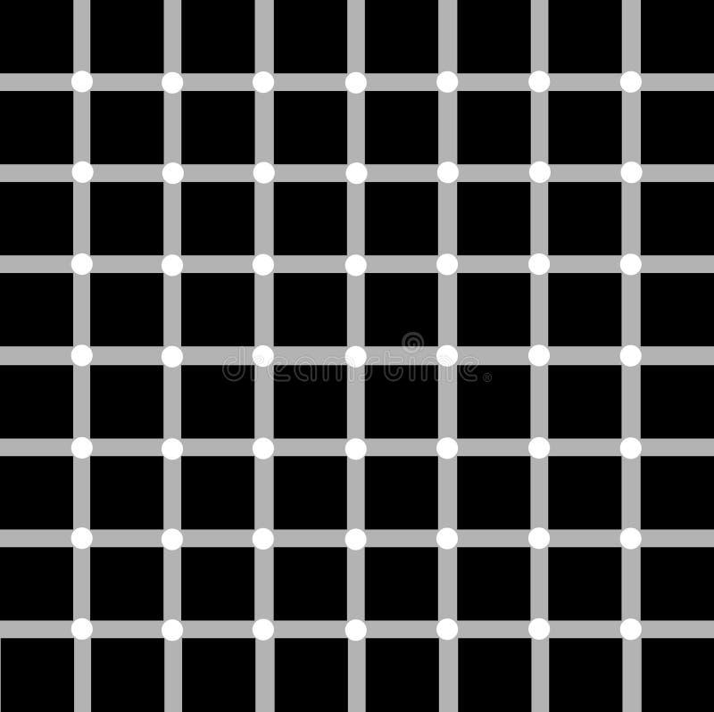Illusion optique illustration libre de droits