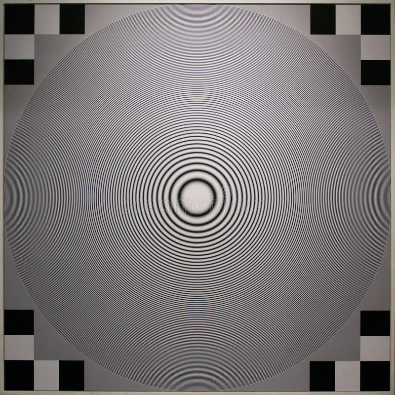 Illusion optique, Tate Modern à Londres photos libres de droits
