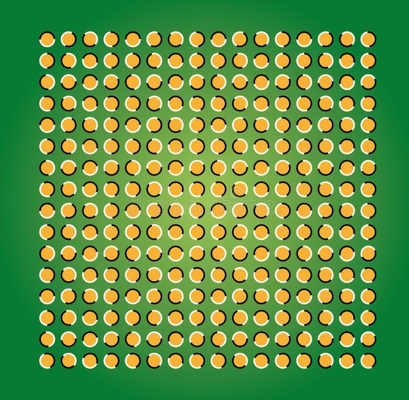 Illusion stock illustration