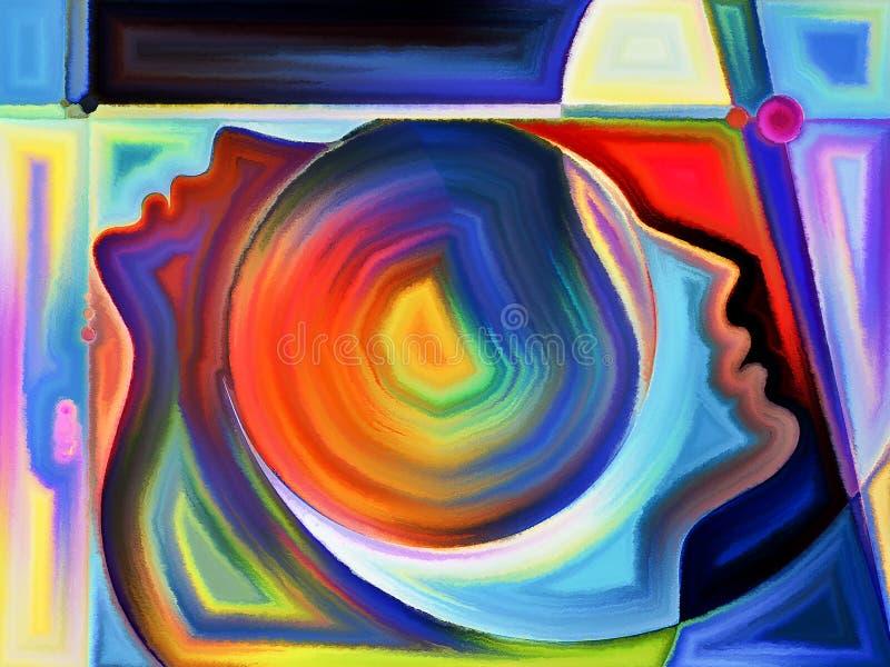 Illusions de perception illustration libre de droits