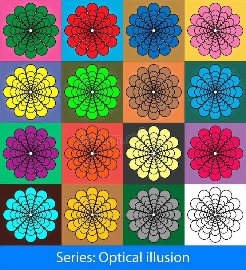 Illusions optiques : Cercles illustration libre de droits