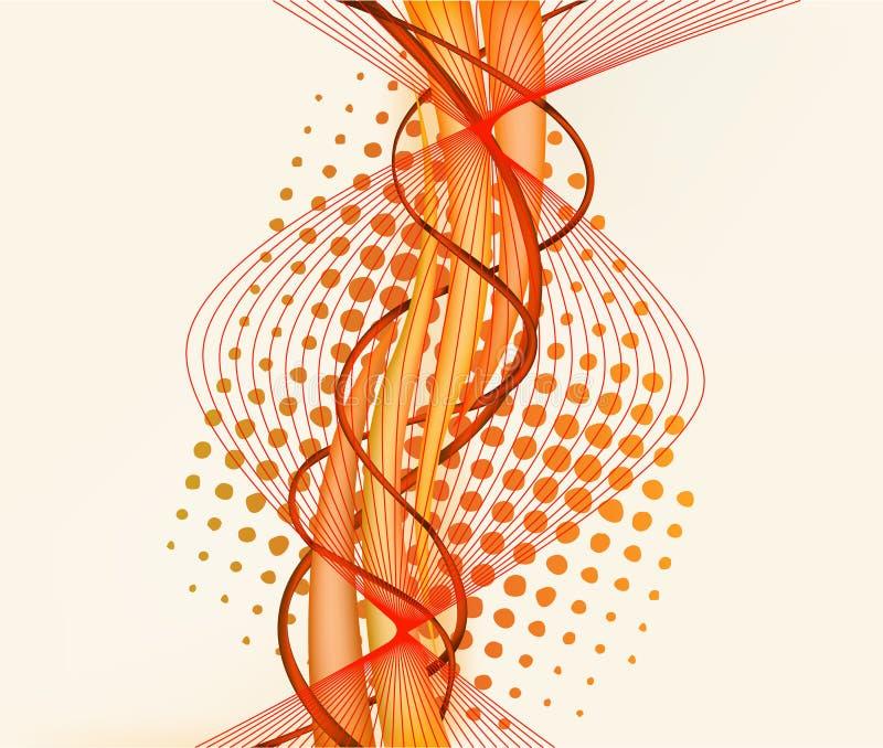 Illustr de vecteur d'art abstrait illustration libre de droits