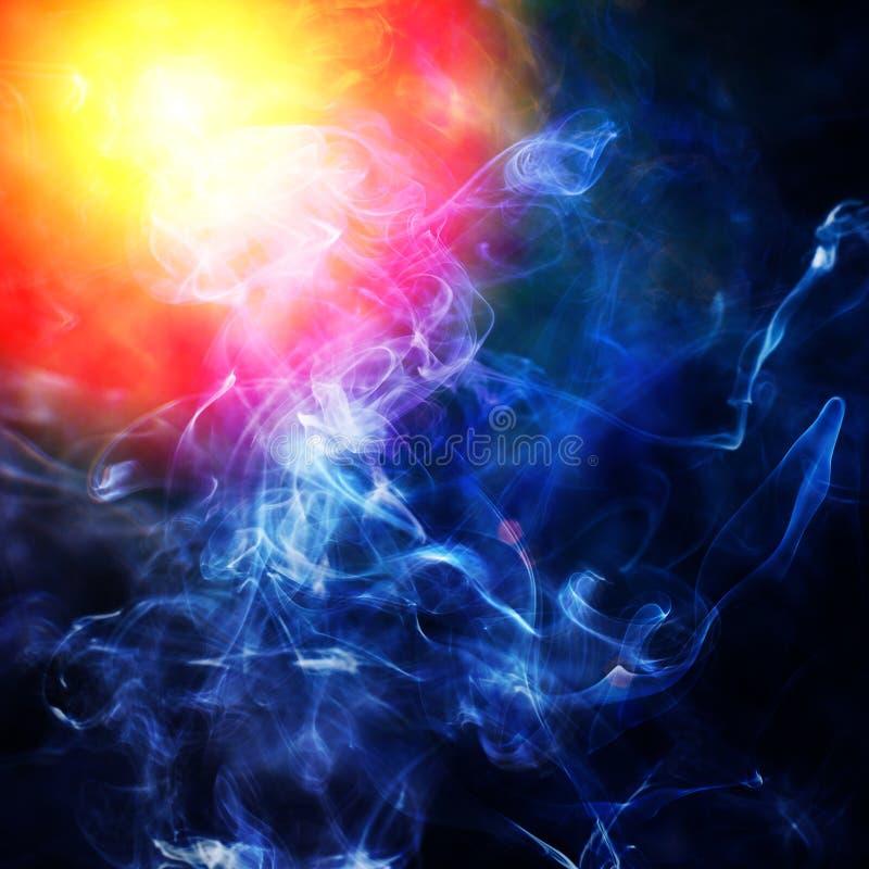 Illustraction della luce blu del punto immagine stock libera da diritti