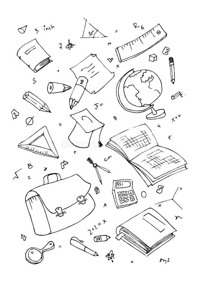 Download Illustraition Of School Subjects Stock Illustration - Illustration of paint, learn: 13713856