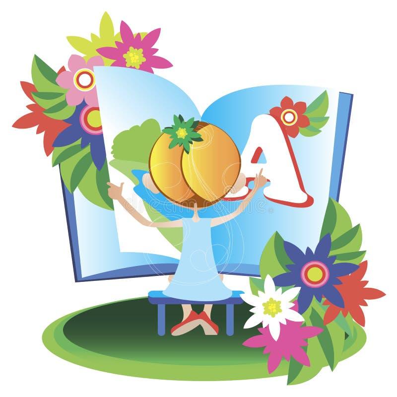 Illustrated Alphabet Royalty Free Stock Photo