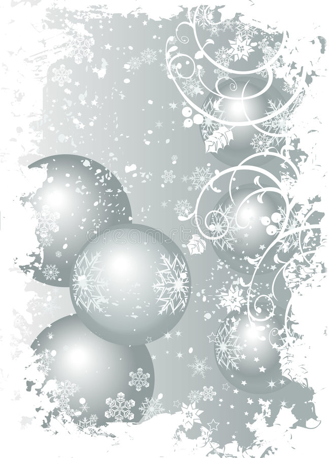 Illustrated background christm vector illustration