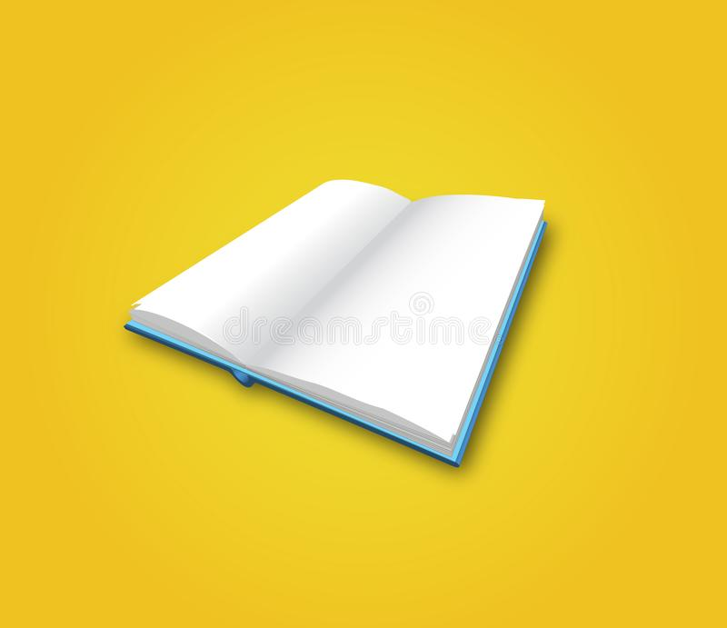 Download Illustrated book stock illustration. Illustration of blank - 9692576