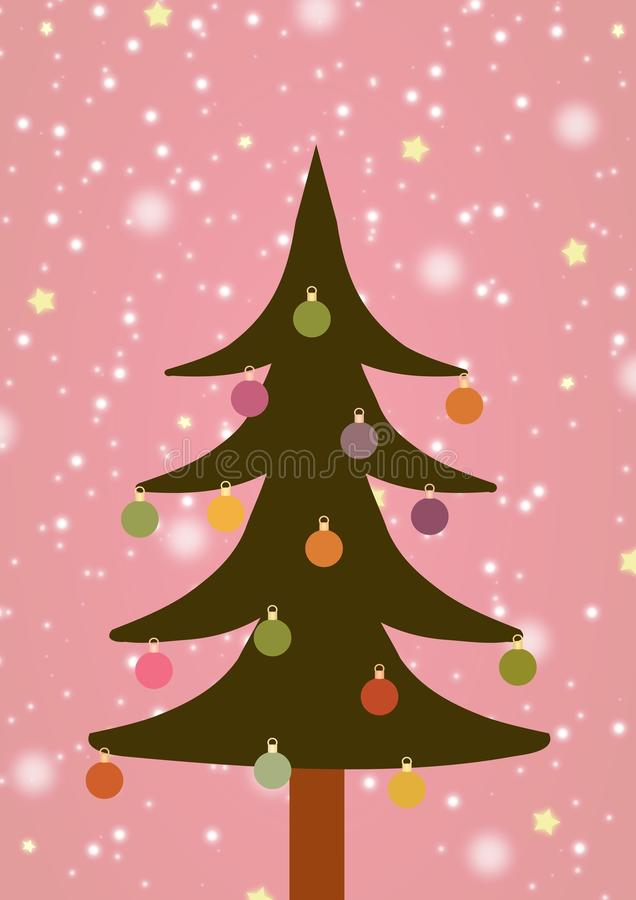 Download Illustrated Christmas Tree Stock Images - Image: 28200244