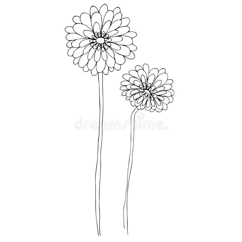 Download Illustrated Cute Flowers Royalty Free Stock Image - Image: 24382116