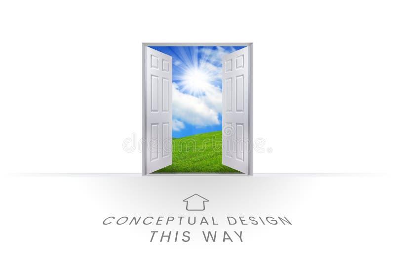 Conceptual design text graphics vector illustration