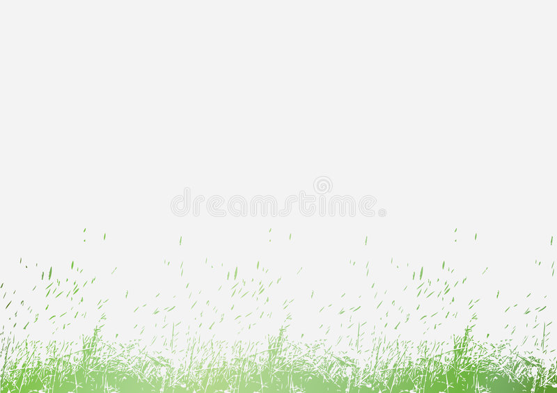Download Illustrated grass stock vector. Image of nature, illustration - 7427427