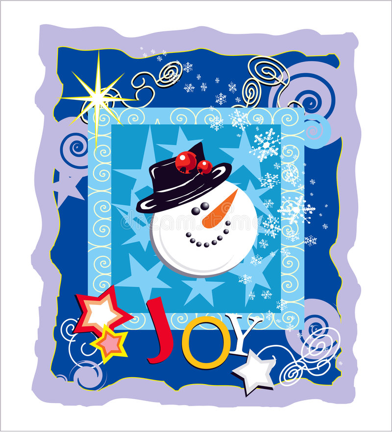 Illustrated Greeting Card Stock Images