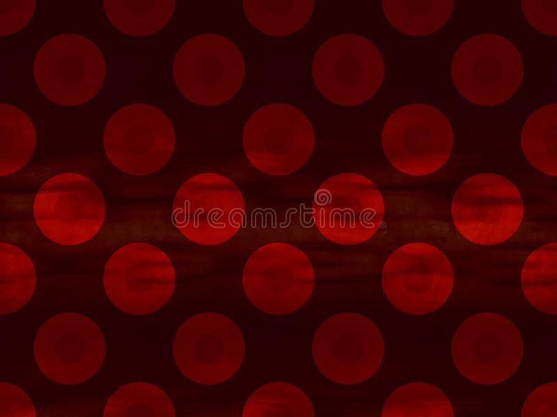 Illustrated Red Background royalty free stock photo