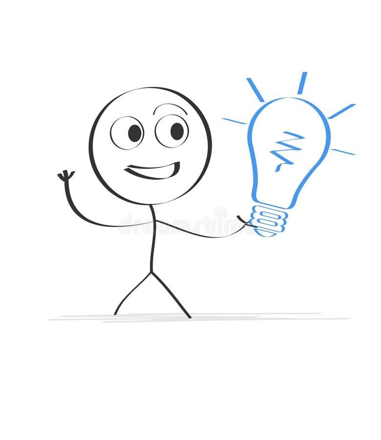 Idea illustration stock images