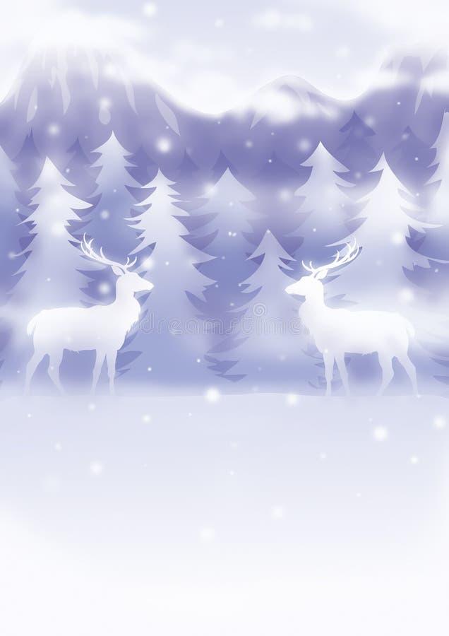 Illustratie 16 van Kerstmis stock illustratie