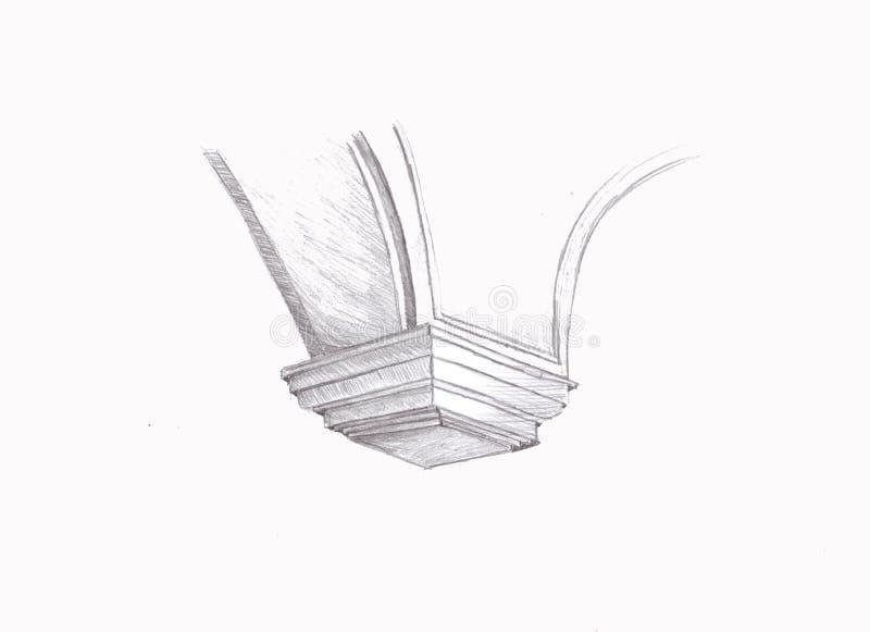Illustratie architecturaal element vector illustratie