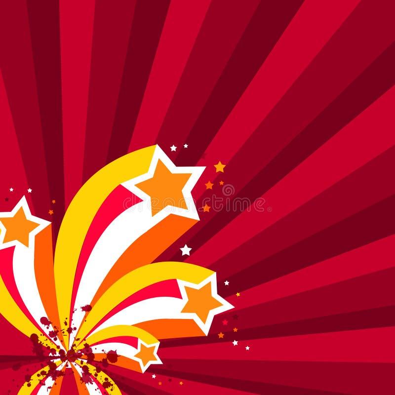 Illustratie, beeldverhaalbackgrou vector illustratie