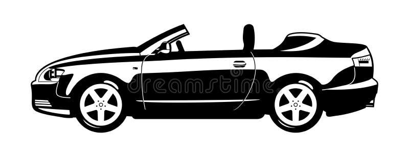 Illustratie van auto royalty-vrije illustratie