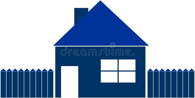 Illustratie van een huis vector illustratie