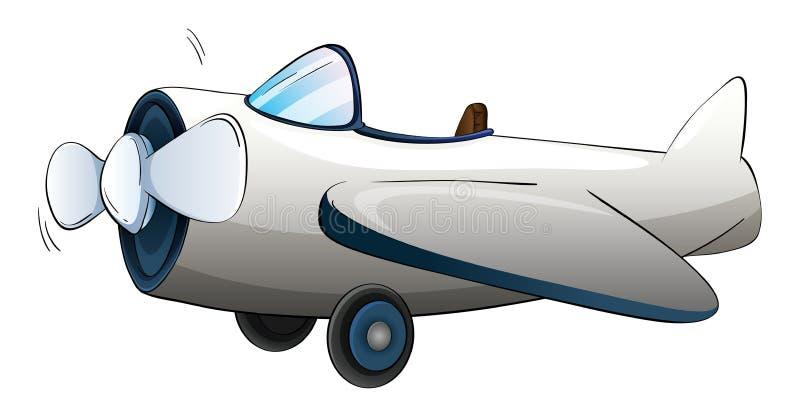 Illustratie van een vliegtuig vector illustratie