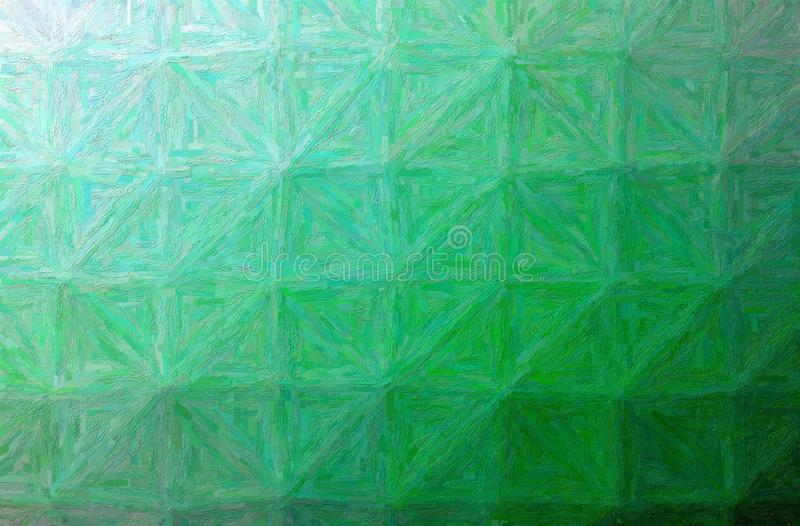 Illustratie van groene kleurrijke impasto horizontale achtergrond vector illustratie