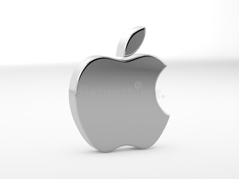 Illustratie van het Embleem van de Appel stock afbeelding