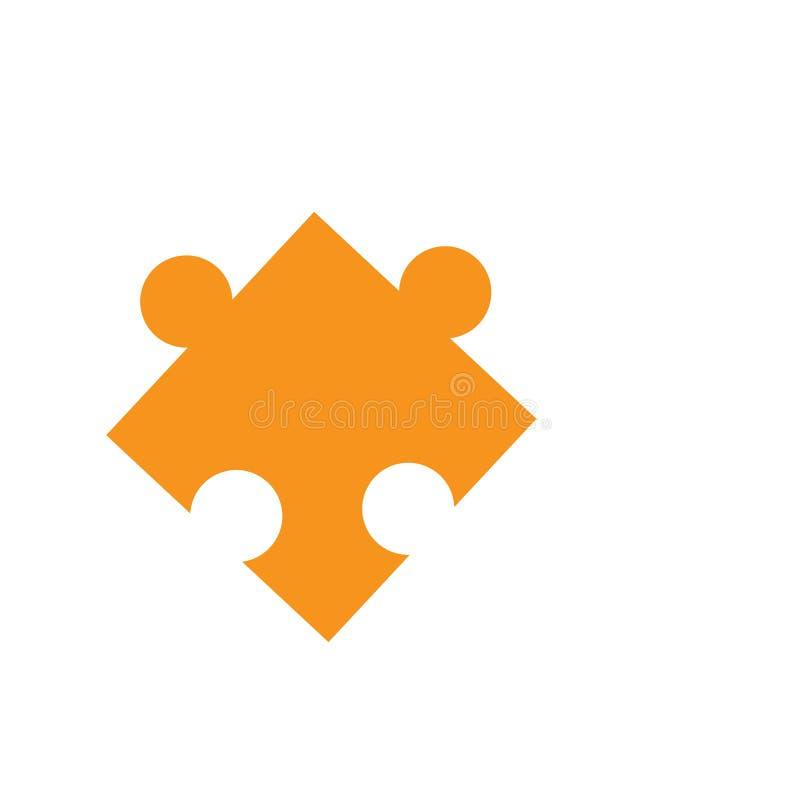 Illustratie van het het Pictogramontwerp van het spelraadsel de vector stock illustratie