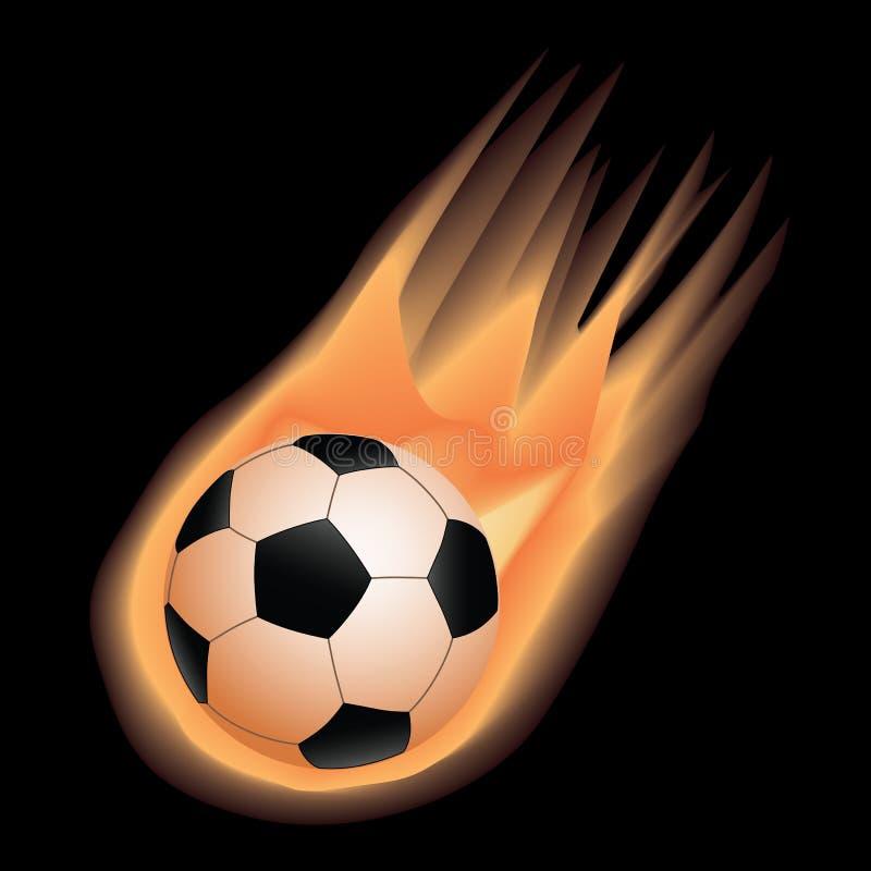 Voetbal-brand stock illustratie