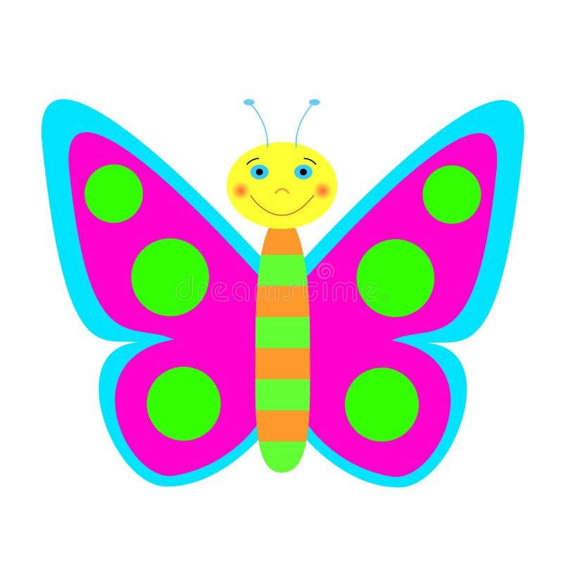 Download Illustratie Van Kleurenvlinder. Vector Illustratie - Illustratie bestaande uit wildlife, illustraties: 29502576