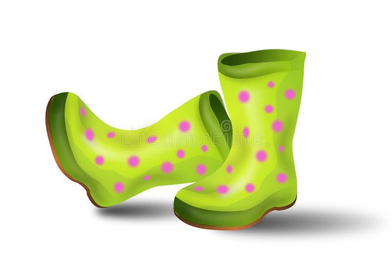 Illustratie van laarzen vector illustratie