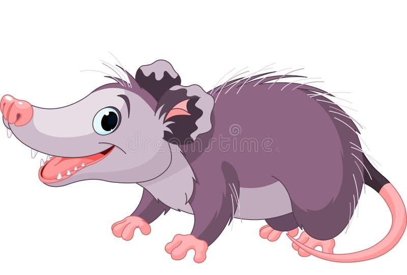 Opossum stock illustratie